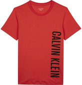 Calvin Klein Logo cotton T-shirt 4-16 years