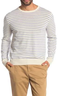 J.Crew J. Crew Everyday Stripe Print Cashmere Sweater
