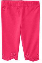 Ralph Lauren Girl Eyelet-Cuff Jersey Legging