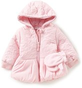 Starting Out Baby Girls 12-24 Months Puffer Coat & Gloves Set
