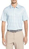Cutter & Buck Men's Pristine Plaid Drytec Polo