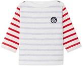 Petit Bateau Baby boys heavy jersey sailor top