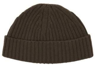 Raey Ribbed-knit Merino-wool Beanie Hat - Mens - Khaki