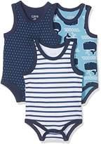 Care Baby Boys' Bac Bodysuit, 3-pack