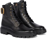 Thumbnail for your product : Tod's Gomma leather ankle boots