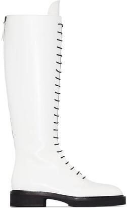 KHAITE The York knee-high boots