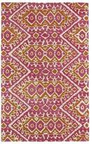 Leon Hand-tufted de Boho Pink Rug (2'0 x 3'0)