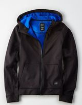 American Eagle Outfitters AE Active Full-Zip Heathered Hoodie