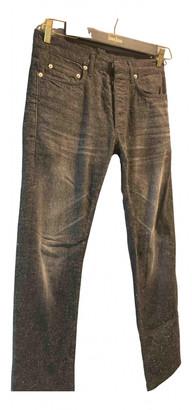Christian Dior Black Cotton Jeans