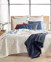 Lucky Brand Sashiko Full/Queen Quilt, Created for Macy's Bedding