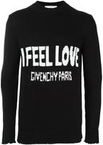 Givenchy Love knitted jumper - men - Cotton - XS