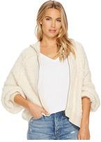 Free People Furry Time Zip-Up Women's Coat