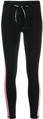 DKNY contrast band leggings