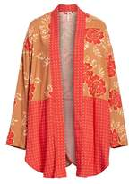 Free People Forget Me Knot Tie Front Kimono