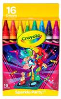 Crayola Crayon Pack 16ct Sparkle Party