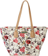 Waverly Bird Floral Large Tote Bag
