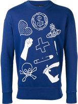 Vivienne Westwood icon print sweatshirt - men - Cotton - XL
