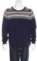 J. Lindeberg Intarsia Knit Sweater