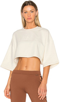 Fenty by Puma Cropped Tee in White. - size L (also in M,S)