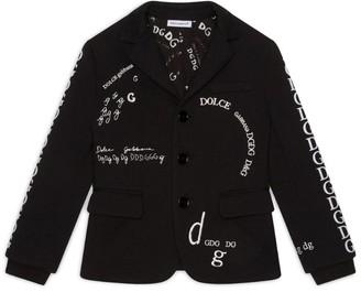 Dolce & Gabbana Kids Embroidered Blazer (8-12 Years)
