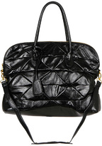 Fairfax Quilted Faux Leather Tote