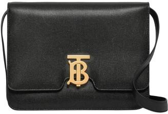 Burberry Medium Grainy Leather TB Bag