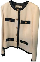 Fausto Puglisi White Wool Jacket for Women