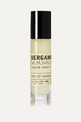 Le Labo Bergamote 22 Liquid Balm, 7.5ml