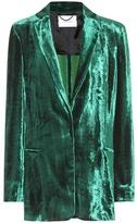 Dorothee Schumacher Smooth Flaunt velvet jacket