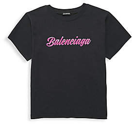 Balenciaga Little Kid's & Kid's Logo Tee