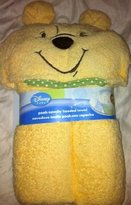 Disney Baby Winnie The Pooh Hooded Towel 100% Cotton