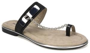 Rialto Zoria Toe Thong Flat Sandals Women's Shoes