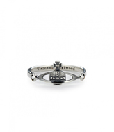 Vivienne Westwood Vendome Ring Oxidized Silver Size XS