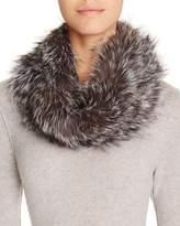 Surell Fox Fur Infinity Loop Scarf