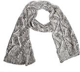 Nine West Women's Cable Knit Scarf