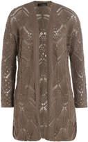 The Kooples Cotton Blend Knit Cardigan