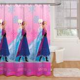 "Disney Frozen"" Snowflakes Fabric Shower Curtain"