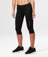 2XU Black Core Run Capri Leggings