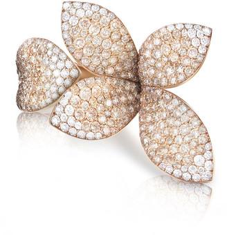 Pasquale Bruni Secret Garden 18k Rose Gold Two-Tone Diamond Ring