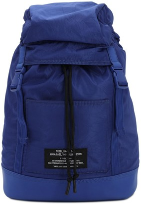 Diesel Crinkled Tech Backpack W/ Patch