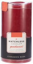 Matchless Candle Co. PushWick 3'' x 6'' Cinnamon Bark Flameless Candle