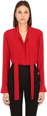 Haider Ackermann Silk Georgette Shirt