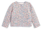 Mini Boden Reversible Quilted Jacket (Baby Girls & Toddler Girls)