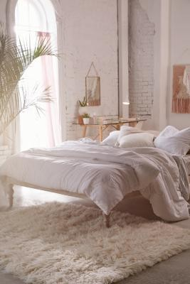 Urban Outfitters Boho Double Bed - White ALL at