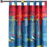 Happy Kids Construction Glow in the Dark Curtain