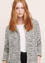 Violeta BY MANGO Bicolor Tweed Jacket