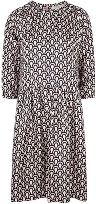 S Max Mara Minorca printed silk dress