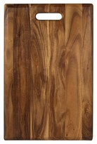 Architec 18 x 11 Inch Non-Slip Acacia Wood Cutting/Serving Board with Handle