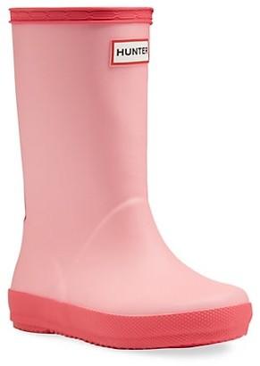 Hunter Little Girl's & Girl's First Classic Rain Boots