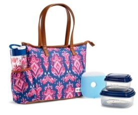 Fit & Fresh Scottsboro Insulated Lunch Bag Kit with Bpa-Free Containers